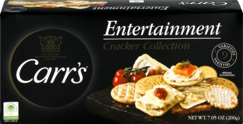 Carr's Entertainment Variety Cracker Collection Perspective: front