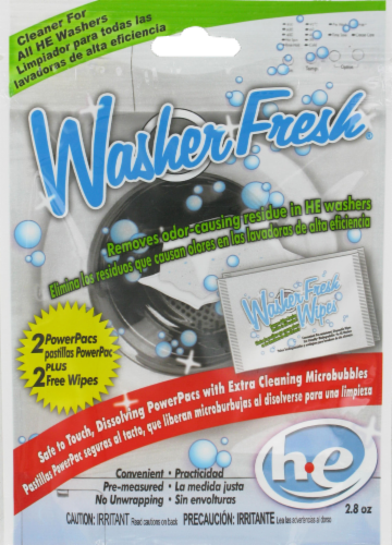 ATA Retail Washer Fresh Power Pacs Perspective: front