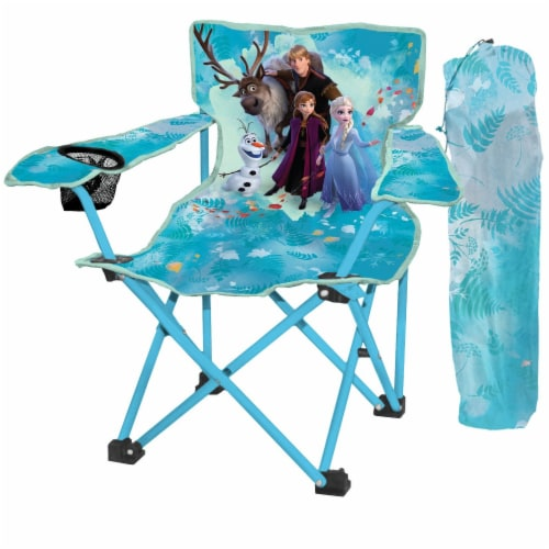 Disney Frozen Camp Chair for Girls Perspective: front