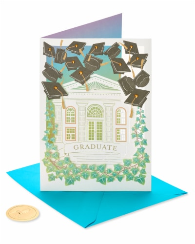 Papyrus Graduation Card (Bright Future) Perspective: front