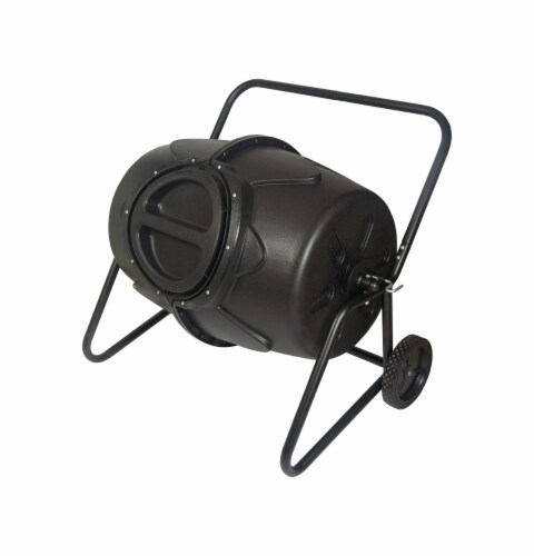 Koolscape Heavy Duty Wheeled Tumbling Composter Perspective: front