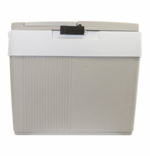 Koolatron 12V Thermoelectric Iceless Cooler Warmer Perspective: front