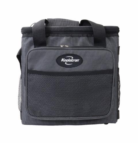 Koolatron D25 Soft Sided Portable 12V Cooler Bag Perspective: front