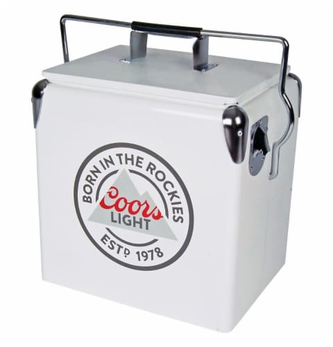 Koolatron Coors Light Ice Chest Cooler with Bottle Opener Perspective: front