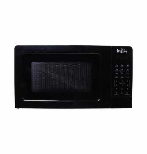 Koolatron Total Chef Microwave Oven - Black Perspective: front