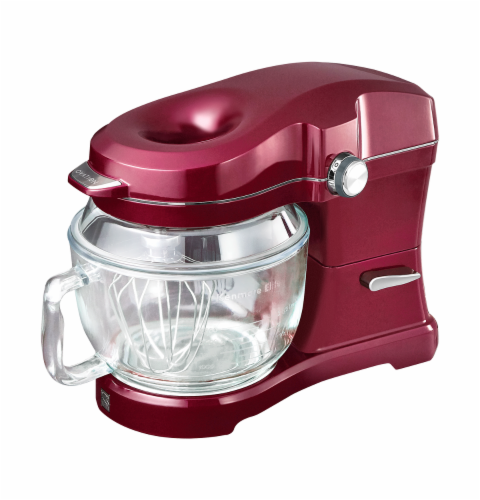 Kenmore Elite Ovation Stand Mixer - Burgundy Perspective: front