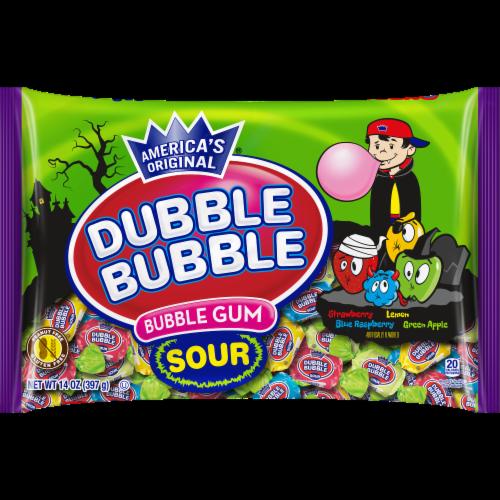 Dubble Bubble Sour Bubble Gum Perspective: front