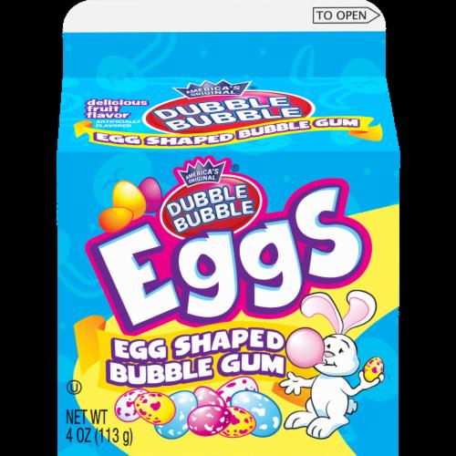 Dubble Bubble Egg Shaped Bubble Gum Perspective: front