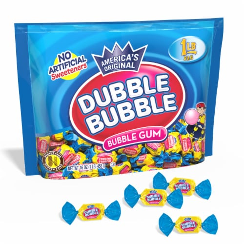Dubble Bubble Bubble Gum Bag Perspective: front