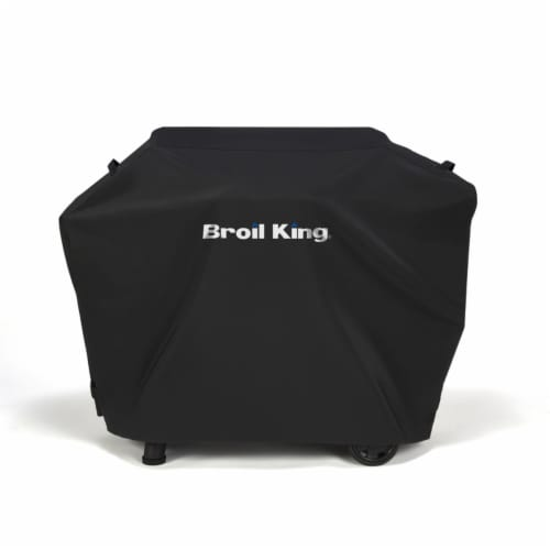 Broil King 8033432 400 58 x 46 in. Black Grill Cover for Baron Pellet Perspective: front