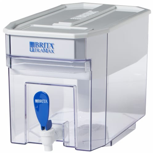 Brita Ultramax Water Dispenser - White Perspective: front