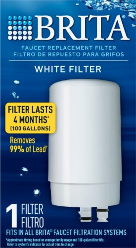 Brita Faucet Replacement Filter Perspective: front