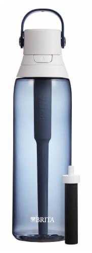 Brita Premium Filtering Water Bottle - Navy Perspective: front