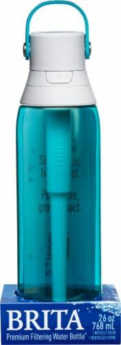 Brita Premium Filtering Water Bottle - Teal Perspective: front