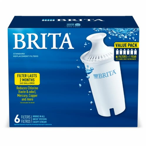 Brita Standard Replacement Filters Perspective: front
