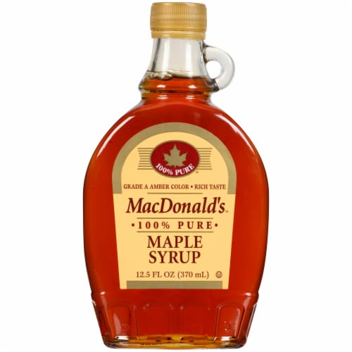 MacDonald's Maple Syrup Perspective: front