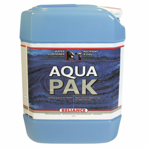 Reliance 8820-03 Reliance Water-Pak Water Container 5 Gallon Perspective: front