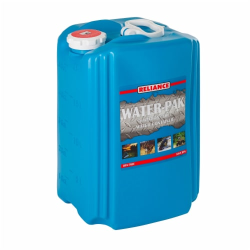 Reliance 8910-03 Reliance Aqua-Pak Water Container 5 Gallon Perspective: front