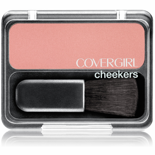 CoverGirl Cheekers Brick Rose Blush Perspective: front