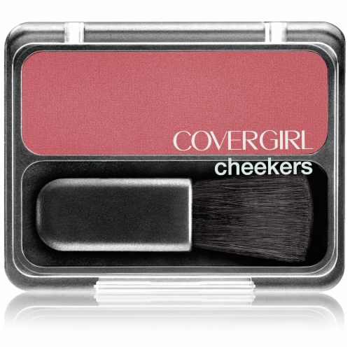 CoverGirl Cheekers Rock 'n Rose Blush Perspective: front