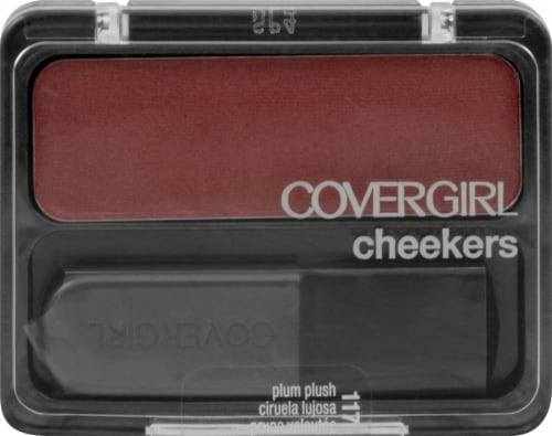 Covergirl Cheekers Plum Plush Blush Perspective: front