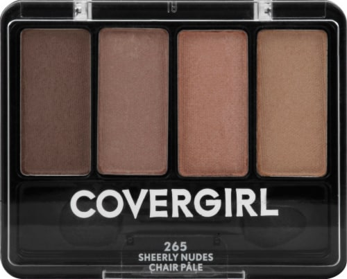 CoverGirl Eye Enhancers Sheerly Nudes Eye Shadow Kit Perspective: front