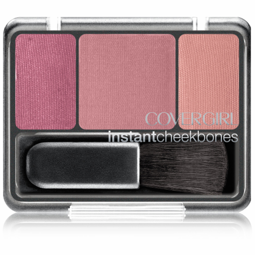 CoverGirl Instant Cheekbones Purely Plum Blush Perspective: front