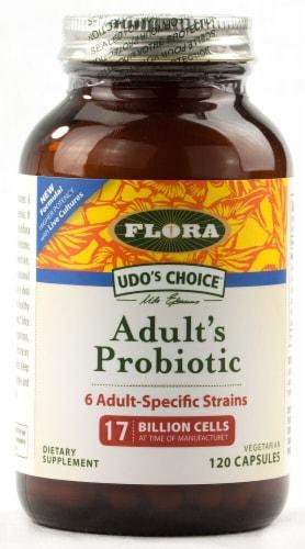 Flora  Flora Aldut Probiotic Perspective: front