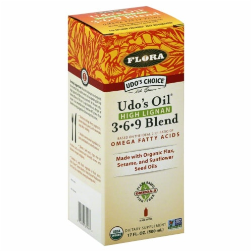 Udo's High Lignan Oil Blend Prenatal Perspective: front