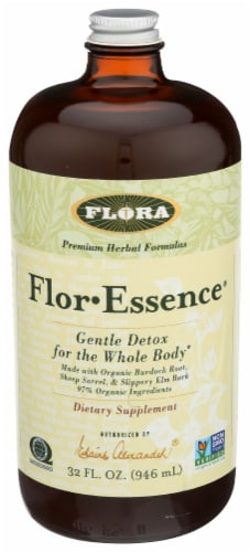 Flora Flor-Essence Gentle Detox For The Whole Body Dietary Supplement Perspective: front