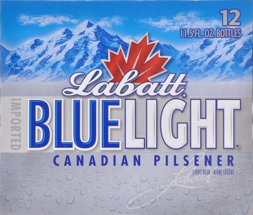 Labatt Blue Light Canadian Pilsner Perspective: front