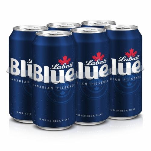 Labatt Blue Canadian Pilsner Perspective: front