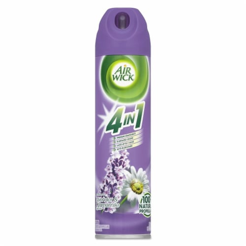 Air Wick Lavender & Chamomile Essential Oils Air Freshener Perspective: front