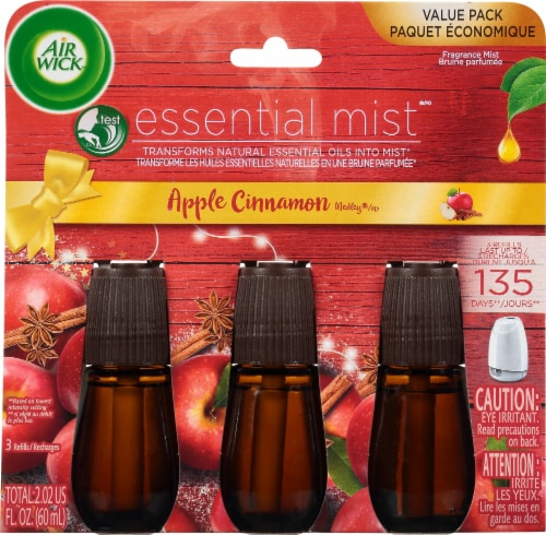 Air Wick Apple Cinnamon Essential Mist - 3 Pack Perspective: front