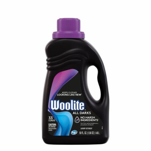 Woolite Midnight Breeze Scent Laundry Detergent Perspective: front