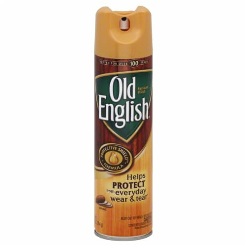Old English Almond Furniture Polish Perspective: front
