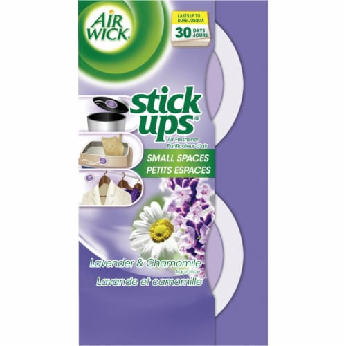 Air Wick Stick Ups Fresh Water Small Spaces Solid Air Freshener (2-Count) Perspective: front