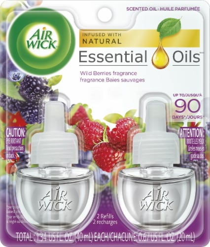 Air Wick Yosemite Scented Oil Perspective: front