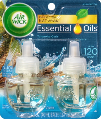 Air Wick Life Scents Turquoise Oasis Oil Refills Perspective: front