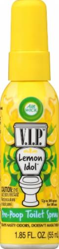 Air Wick V.I.P Lemon Idol Toilet Perfume Perspective: front