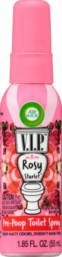 Air Wick V.I.Poo Toilet Perfume Rosy Starlet Perspective: front