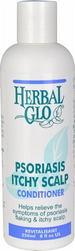 Herbal Glo Psoriasis & Itchy Scalp Conditioner Perspective: front