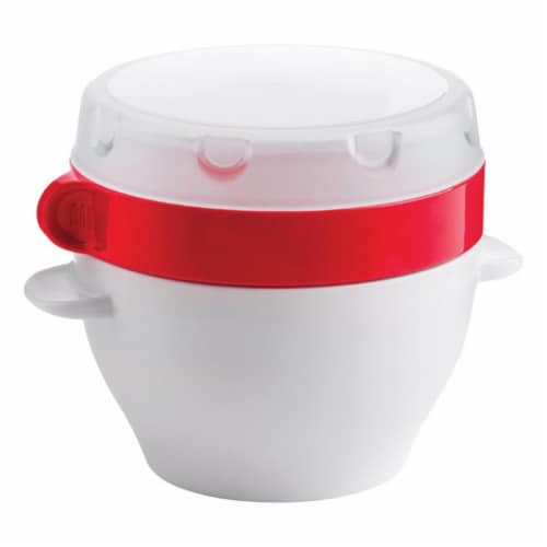 Trudeau 6510903 12 oz Soup on the Go Liquid Storage Container, White Perspective: front