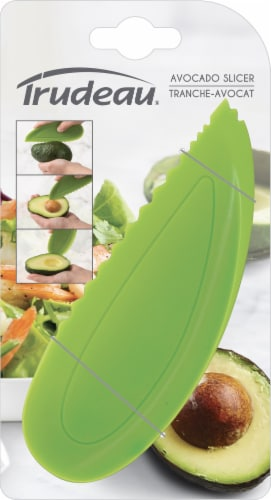 Trudeau Avocado Slicer - Green Perspective: front