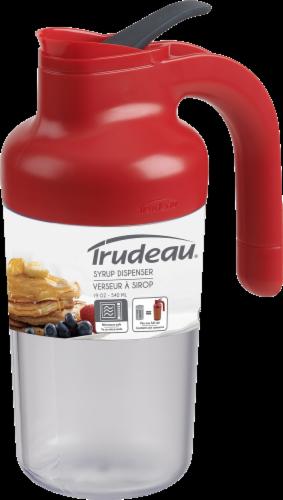 Trudeau Syrup Dispenser - Paprika Perspective: front