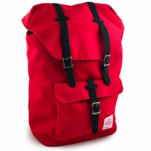 Canada 150 Red School Backpack Perspective: front