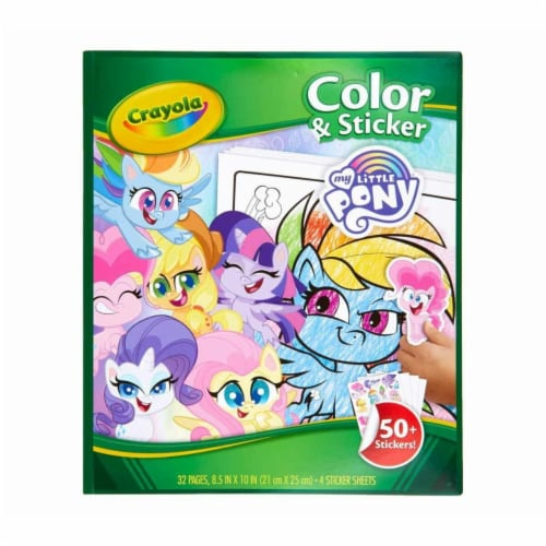 Crayola - Colour & Sticker Book My Little Pony Perspective: front