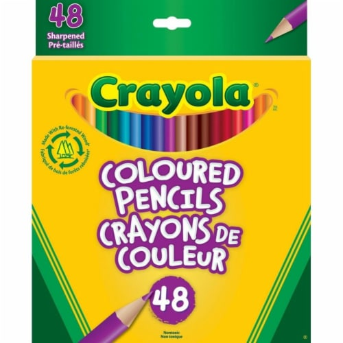 Crayola 48 Colored Pencils Perspective: front