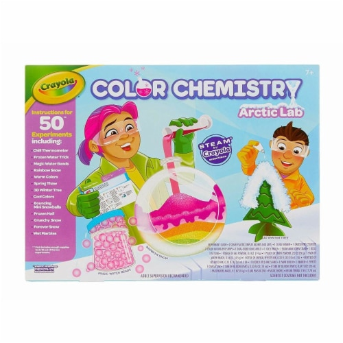 Crayola Arctic Color Chemistry Set for Kids Perspective: front