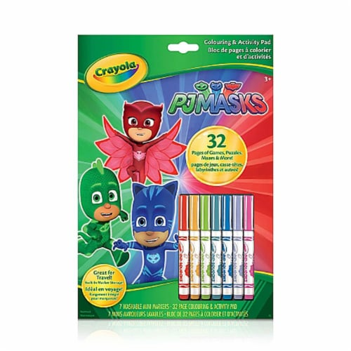 Crayola Colouring & Activity Book PJ Masks Perspective: front